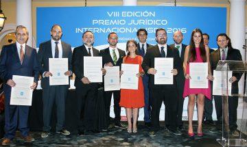 Éxito de la 8ª edición del Premio Jurídico Internacional ISDE