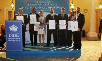 VII Edición Premio Jurídico Internacional ISDE